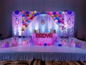 Ayansh Events Birthday Decoration